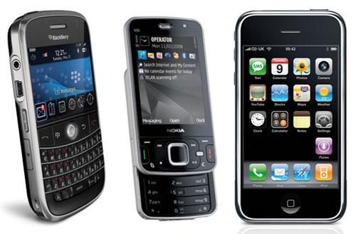 Image of smartphones