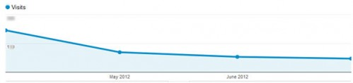 Visitor Traffic Overview Graph