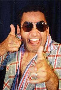 Image of man giving the thumbs up